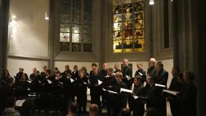 Chor des Bachvereins in der Antoniter-Kirche