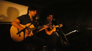 Mauricio Almanzor, Gitarrist, Berlin; Stepan Gantralyan, Sänger, Berlin