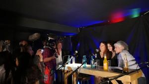 Filmaufnahmen des TV-Teams für Titel, Thesen, Temperamente
