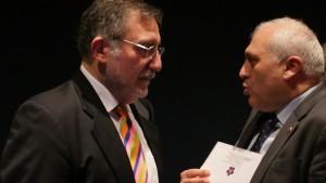 Raffi Kantian, Deutsch-Armenische Gesellschaft; Ashton Smbatyan, Botschafter Republik Armenien