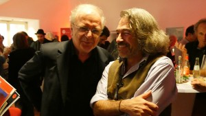 Osman Okkan, Kulturforum Türkei/Deutschland Köln; Festivalleiter Amin Farzanefar