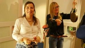 Lale Konuk, Festivalmanagerin und Krystiane Vajda, Team