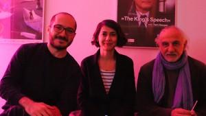 Ezgi Kilincaslan, Filmemacherin Berlin; Nigol Bezdjian, Filmemacher Beirut