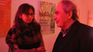 Talin Suciyan, Filmemacherin Berlin; Mihran Dabagh, Institut für Genozidforschung Bochum